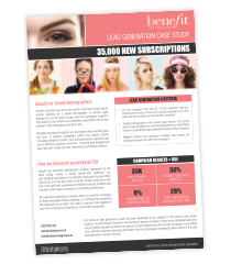 Download the Benefit Cosmetics case study