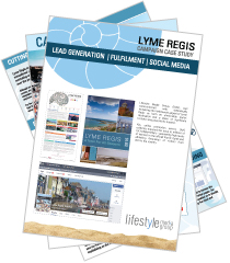 Download the Lyme Regis Tourist Board case study
