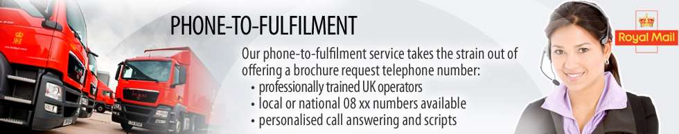 Brochure Phone Fulfilment